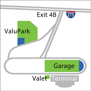 VIP Parking Map