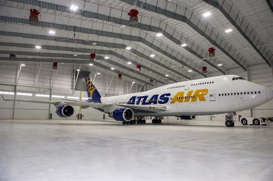 Atlas Air plane from FEAM opening